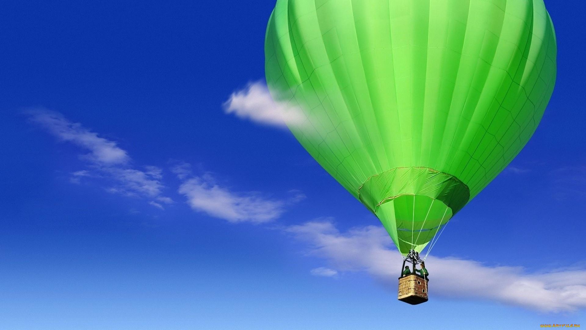 Обои воздушный шар, корзина. Авиация foto 14